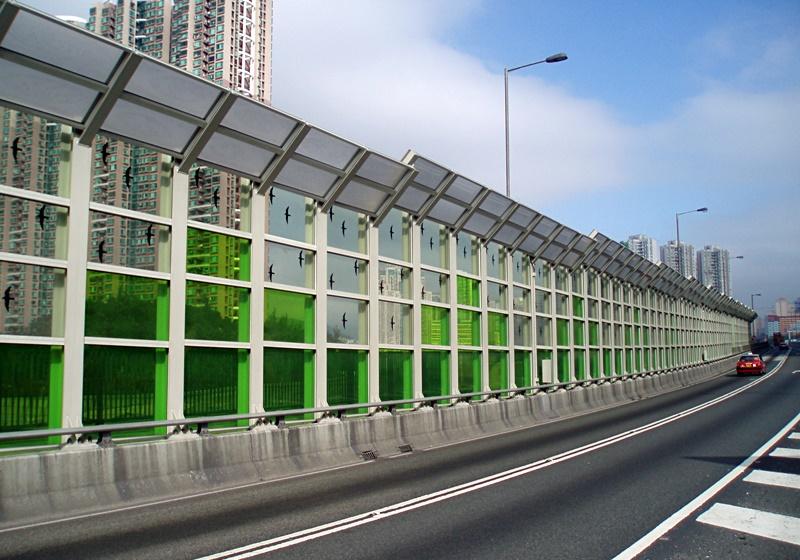 Tsing Tsuen Bridge Hong Kong Noise Barriers